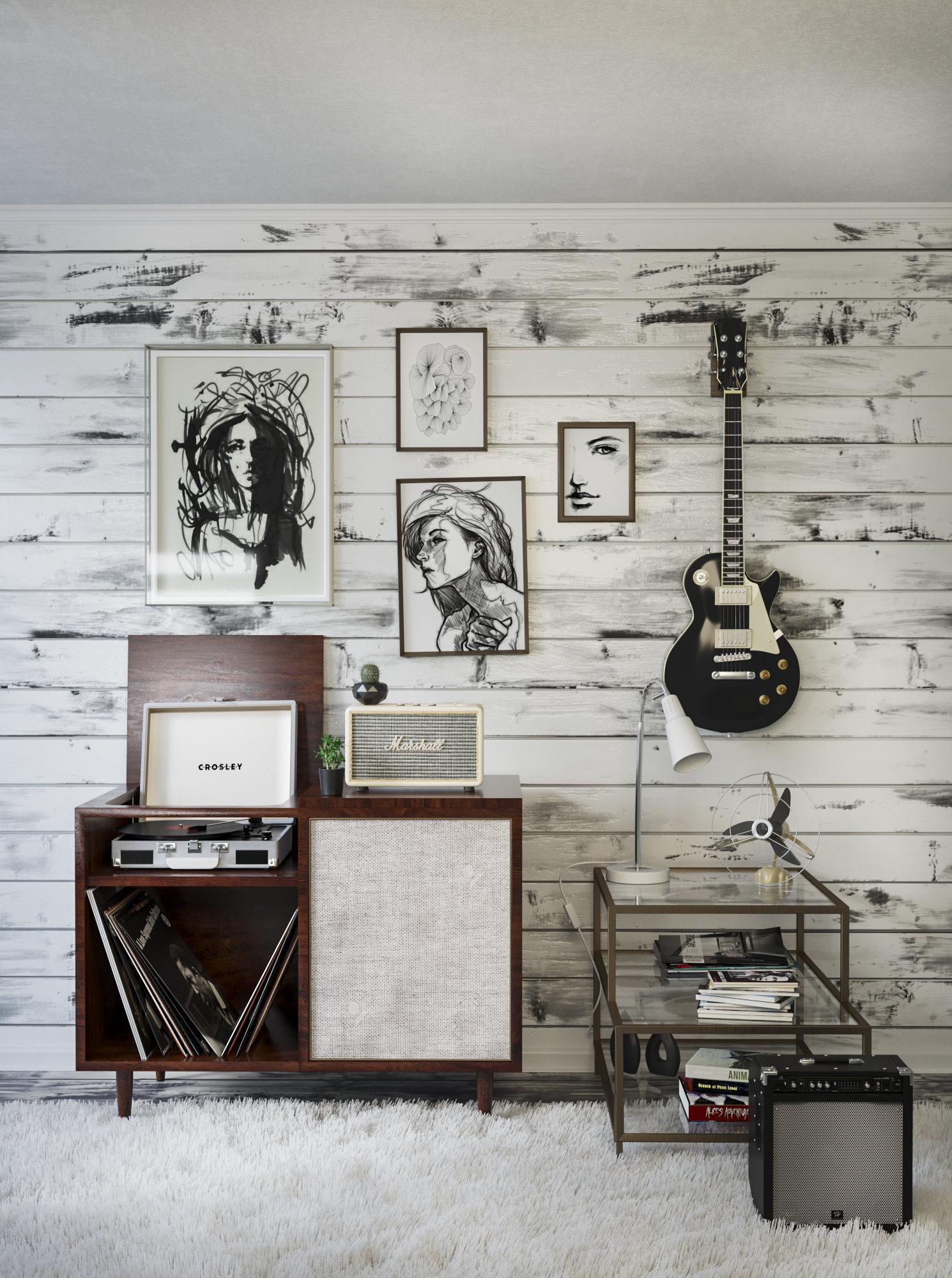 La musique et des vinyles