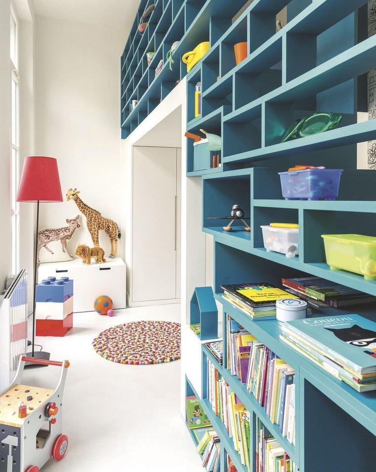 la salle de jeux ludique pour enfants inspiration style. Black Bedroom Furniture Sets. Home Design Ideas
