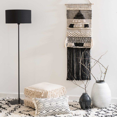 la d coration murale d 39 un salon boh me inspiration style. Black Bedroom Furniture Sets. Home Design Ideas