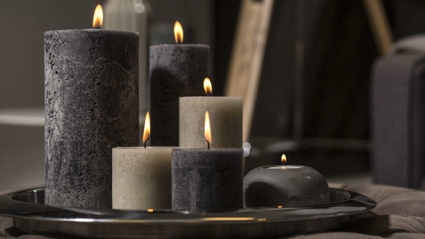 Les bougies dans la déco intérieure