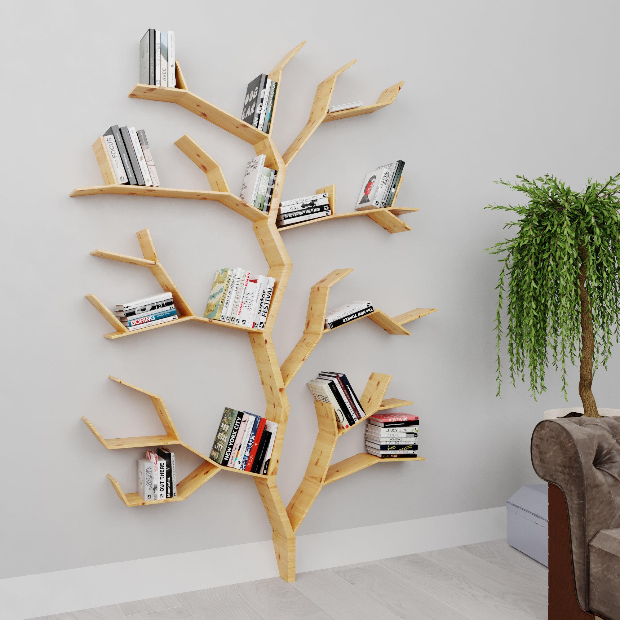 L'étagère arbre : inspiration style Contemporain