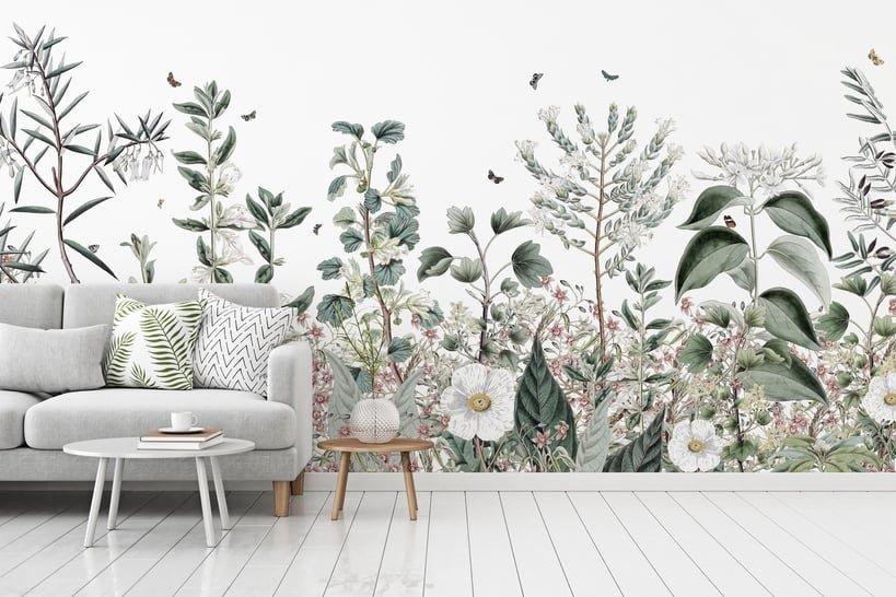 les plus beaux papiers peints graphiques inspiration. Black Bedroom Furniture Sets. Home Design Ideas