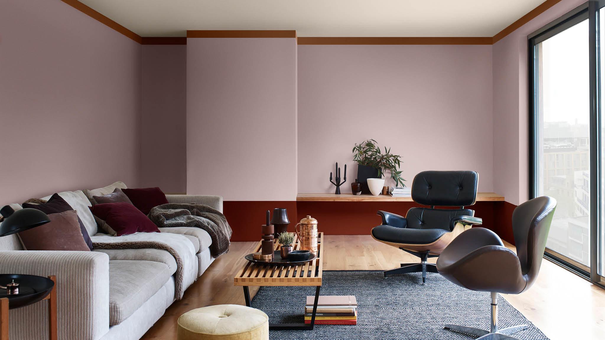 Le brun cachemire élu couleur de l\'année 2018 salon contemporain ...
