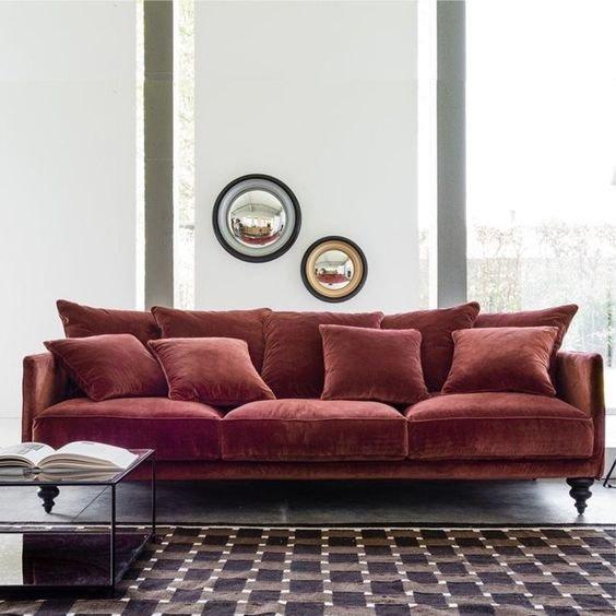 retour sur la couleur marsala la couleur pantone de l 39 ann e 2015 salon classique contemporain. Black Bedroom Furniture Sets. Home Design Ideas