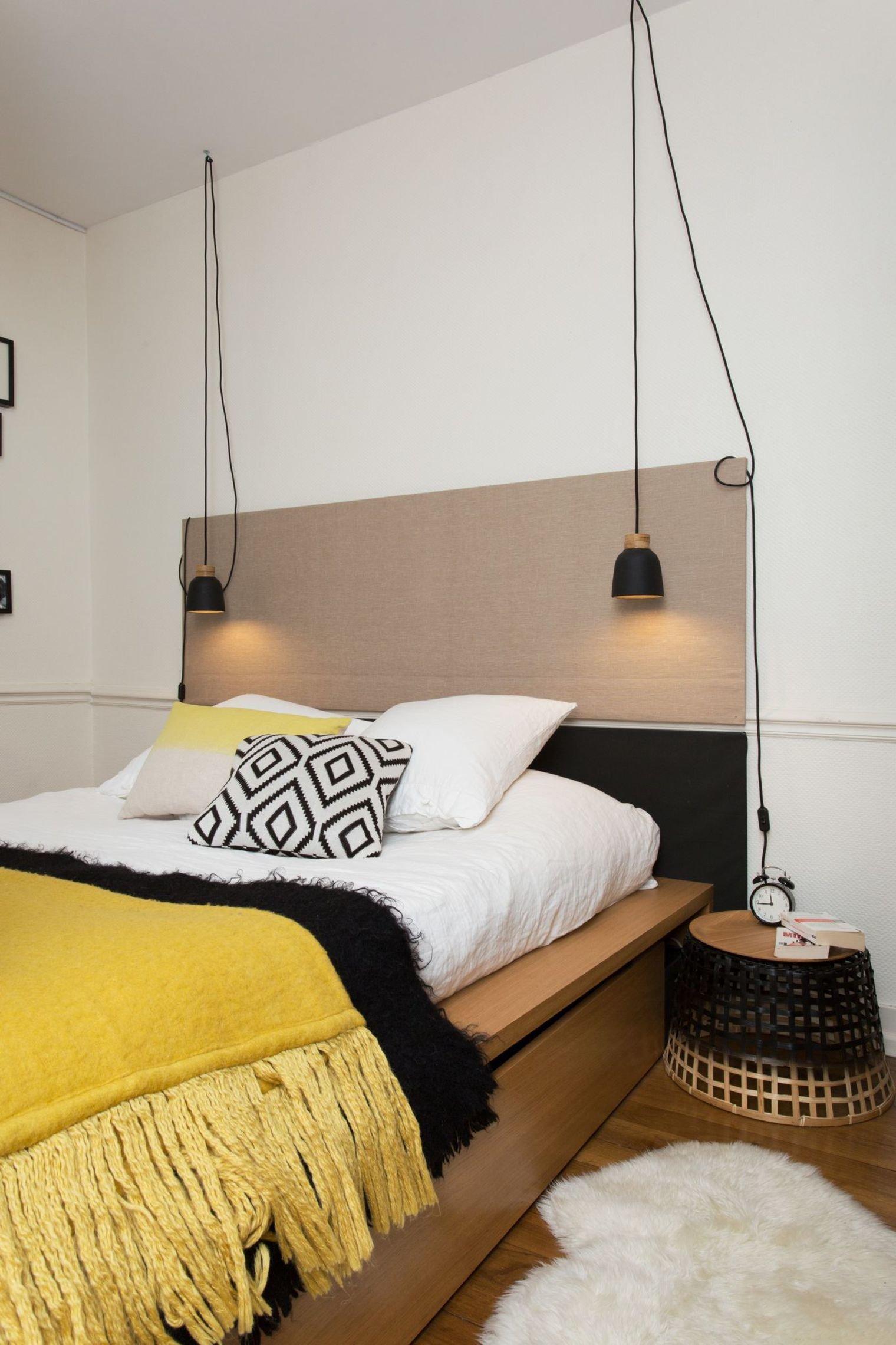 Emejing Chambre Jaune Noir Et Blanc Photos - House Design ...