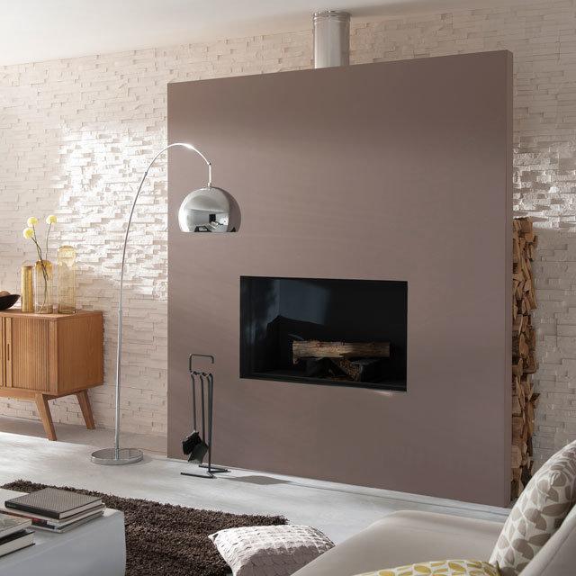 le brun cachemire lu couleur de l ann e 2018 salon scandinave inspiration style scandinave. Black Bedroom Furniture Sets. Home Design Ideas