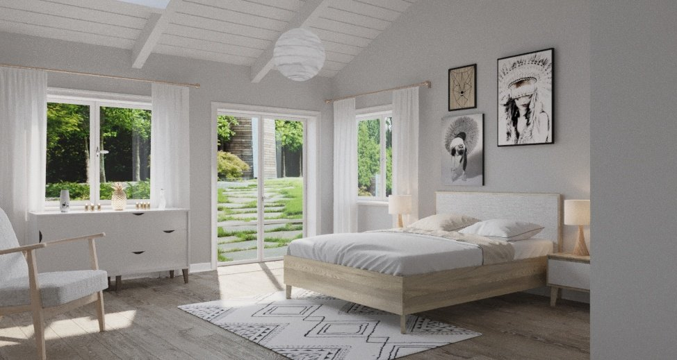 Chambre scandinave beige blanche: inspiration style Scandinave