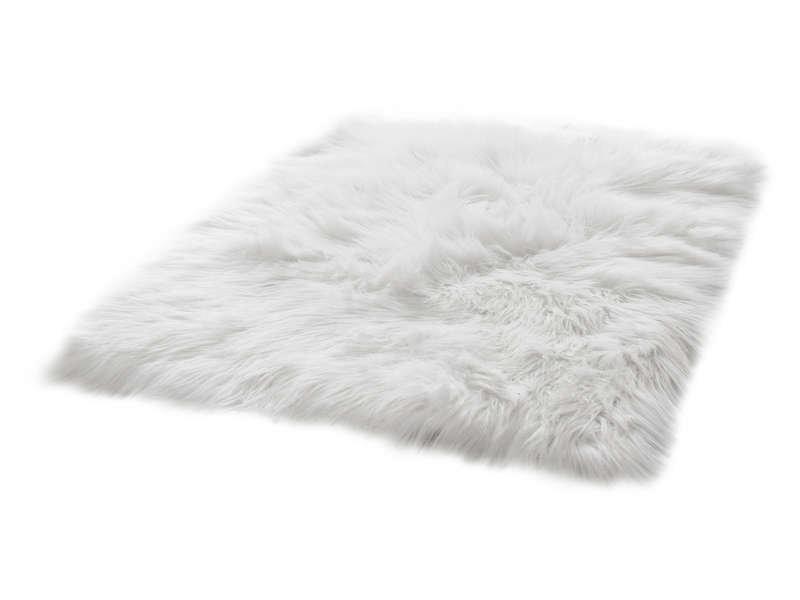 Tapis 60 cm 120 cm blanc