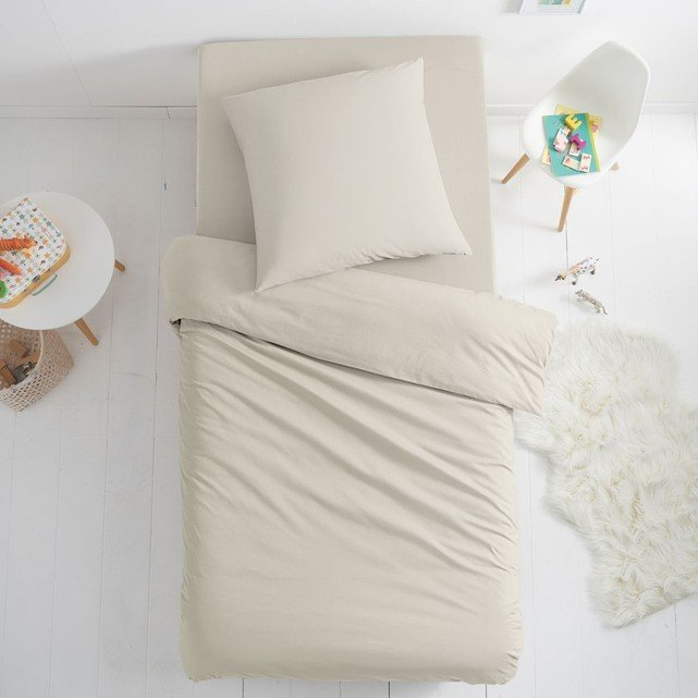 Housse de couette pour lit enfant en coton