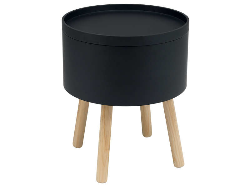 Chambre scandinave industrielle contemporaine grise beige blanche marron inspiration style - Table d appoint conforama ...